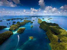 Sentani lake, Raja ampat, Papua, Indonesia