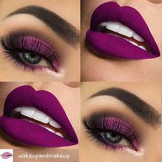 @wakeupandmakeup - Royal By: @makeupthang . . . #makeup #eyebrows #eyeshadow #makeupgirls #makeupartist #makeupaddict #makeuplover #makeupforever