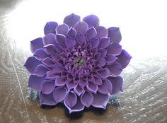 Gumpaste Dahlia Flower by TheSweetestThingCS, via Flickr