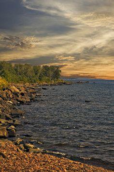 Summer Shore - Lake Superior, Minnesota