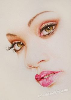Realistic Pencil Portraits by Adi Nugroho {contemporary artist beautiful female face drawing} <3