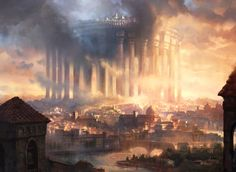 Paliano: The High City by AdamPaquette. DeviantART  Copyright Wizards of the Coast