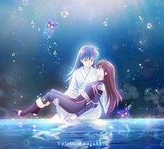 Inuyasha Funny, Inuyasha Fan Art, Inuyasha Love, Fan Anime, Anime Love, Seshomaru Y Rin, Inuyasha And Sesshomaru, Miroku, Netflix Anime