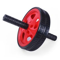 Furnistar Red Exercise & Fitness Ab Wheel & Roller. Furnistar Red Exercise & Fitness Ab Wheel & Roller