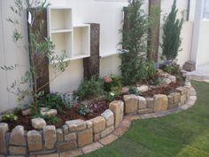 Stone Garden Paths, Garden Stones, Garden Deco, Country Landscaping, Plant Design, Garden Inspiration, Interior And Exterior, Brick, Patio