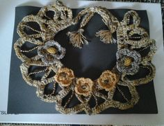 croched necklace