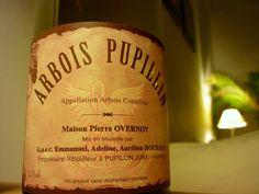 Arbois Pupillin - Maison Pierre Overnoy Jura France, Adeline, In Vino Veritas, Long Winter, Bottle