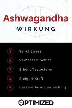 Ashwagandha ist eine Heilpflanze mit großer Wirkung. Sie senkt Stress, fördert Schlaf und steigert die Leistungsfähigkeit.  #ashwagandha #vorteile #wirkung Ayurveda, Superfoods, Stress, Health, Positive Characteristics, Medicinal Plants, Benefits Of, Berries, Health Care