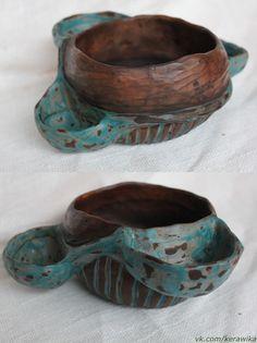 """Ceramic, Belarus, """"Oak and Spring"""". Керамика ручной работы, Беларусь, """"Дуб и Весна""""."""