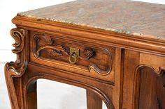 art nouveau stílusú bútorok Vintage, Table, Art Deco, Entryway Tables, Antik, Mid Century, Home Decor, Furniture, Luxury Homes