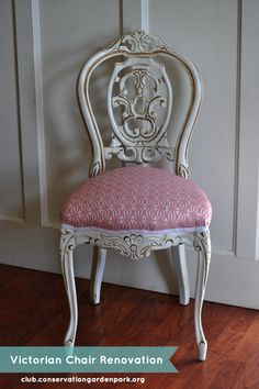 Victorian Chair reno tutorial