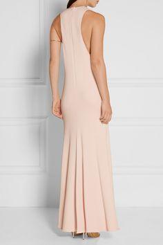 Cushnie et Ochs | Devi pleated stretch-cady gown | NET-A-PORTER.COM