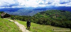 Paisaje de Kuelap  Kuelap Landscape Chachapoyas Peru