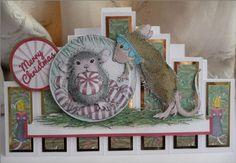 Seven Panel Card by Sheila Weaver