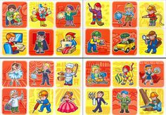 24 cartas de profesiones