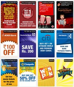 Buy 1 Get 1 Free Offers & more at BookMyShow Grab the offer now ..!!