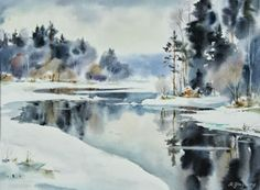 Art Of Watercolor: Maria Ginzburg.