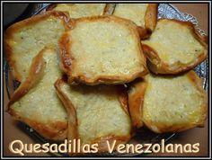 Quesadillas Venezolanas receta fácil