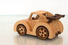 FrostyYCrafts juguete de madera coche VW por FrostyYCrafts en Etsy