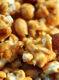 Caramel Corn recipe from Jenny Jones (JennyCanCook.com) - Don't make this if you have no will power – it's that good... and surprisingly easy to make. See my How-To video at: http://www.jennycancook.com/videos/