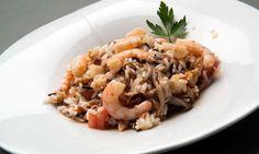 Receta de Ensalada de arroz y gambas