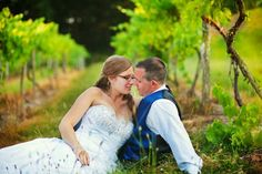 Photo taken at Benmarl Winery where we got married.