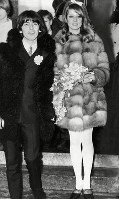 Pattie Boyd Married Beatle George Harrisson In 1966
