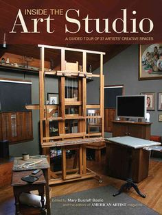 Take a tour of artists' studios! Whether you're looking to upgrade your own studio or just love peeking into the workplaces of successful artists, you'll find ideas and inspiration Inside the Art Stud