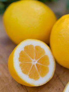 Lemon - for evening skin tone and lightening dark spots