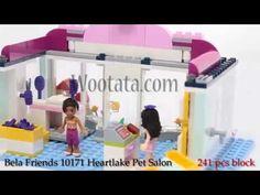 Mainan Anak Perempuan Bongkar Pasang Lego Block Friends 10171 Heartlake ...