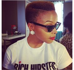 CM high top fade w/ side part
