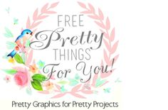 Free Vintage Facebook Timeline Cover and Blog Banner with Matching Button | Free Pretty Things For You vintage clip art, graphic, digital papers, diy, craft ideas, printabl