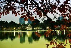 Hoan Kiem Lake in Autumn
