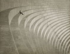 """A couple more of beautiful images for your delectation... Hiromu Kira. 'The Thinker' c. 1930 """"Hiromu Kira, a Japanese-American photographer belonging to the pictorialist movement of the 1920s and '30s, made this bromide print using an image he made while demonstrating a camera to a customer, the sitter, at the Hollywood Dam."""""""