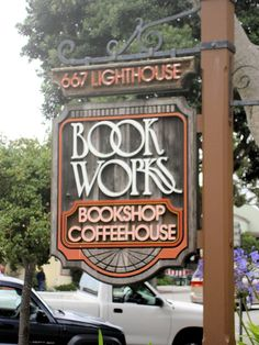 BOOK WORKS, Pacific Grove, CA, this place is awesome, visited here on our honeymoon and bought my favorite cookbook here :)