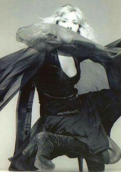 Stevie Nicks, great boots shot.