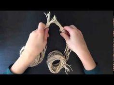 fabriquer sa corde maison facilement - YouTube