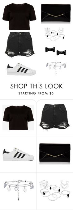 """Untitled #307"" by kaylee10-i ❤ liked on Polyvore featuring Ted Baker, Topshop, adidas, Furla, Marc by Marc Jacobs, women's clothing, women, female, woman and misses"