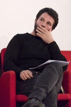 Davide Tommaso Ferrando, moderatore del ciclo di Looking Around. © Edoardo Piva