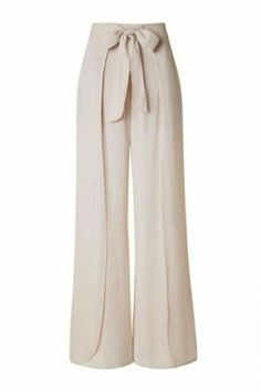 How to Sew an easy pair of knit pants DIY Layered Front High Waist with Tie Lightweight Palazzo Pants – Beige Fashion Pants, Hijab Fashion, Fashion Dresses, Fashion Gal, Holiday Fashion, Holiday Outfits, Gothic Fashion, Fashion Ideas, Curvy Outfits