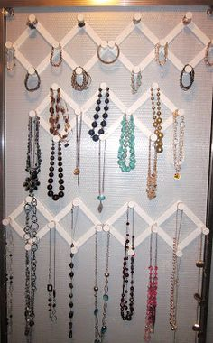 My Pondokkie FRIDGE SHELF TO EARRING ORGANIZER Jewelry