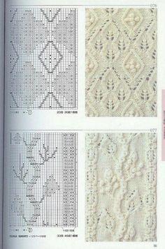 Ажурные узоры спицами (10 фото) | WmnDay.ru - Handmade, фитнес, интерьеры