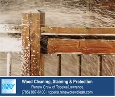 http://topeka.renewcrewclean.com/deck-cleaning – The cleaning solution used by Renew Crew of Topeka/Lawrence is a proprietary blend that is excellent for wood cleaning and safe for your plants and pets in the area. We serve Topeka plus Lawrence KS. Free estimates.