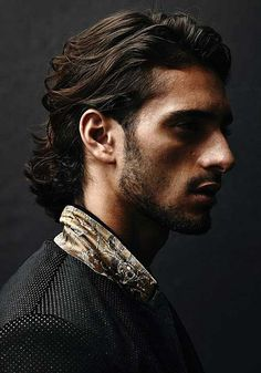 7.Mens Long Hairstyle 2015