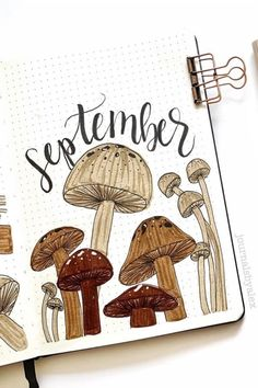 Best September Monthly Cover Ideas For 2020 - Crazy Laura - - Fall is a great time to switch up your bullet journal theme! Check out the best September monthly cover ideas and examples for inspiration to get started! Bullet Journal Spreads, Bullet Journal Cover Ideas, Bullet Journal Monthly Spread, Bullet Journal Writing, Bullet Journal 2020, Bullet Journal Ideas Pages, Bullet Journal Layout, Journal Covers, Bullet Journal Inspiration