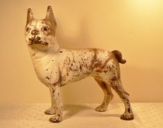 Antique Boston Terrier Cast Iron door stop by TwentiethCenturyFind, $210.00