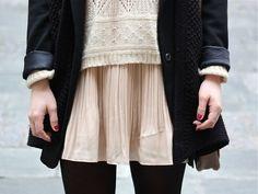 knits, layers