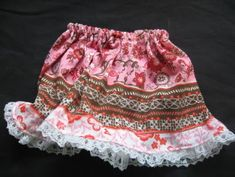 Free Pattern for American Girl Doll Clothes: Skirt