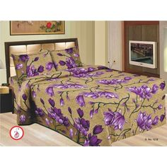 awesome king size double bed sheets set with 2 pillows - King Size Bed Sheets