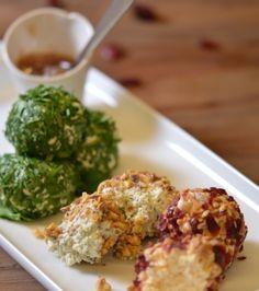 Μπάλες τυριού με αρωματικά, ξηρούς καρπούς και αποξηραμένα φρούτα | Γιάννης Λουκάκος